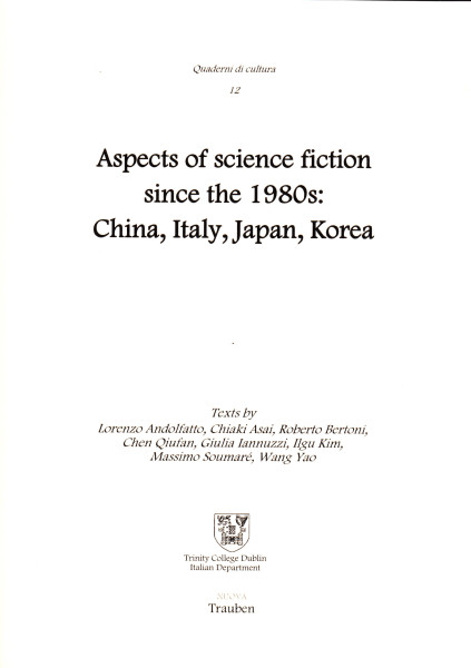 copertina scansita Aspects of science fiction