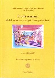 copertina Profili romanzi